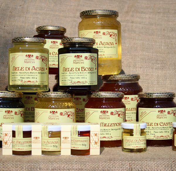 varietà di miele